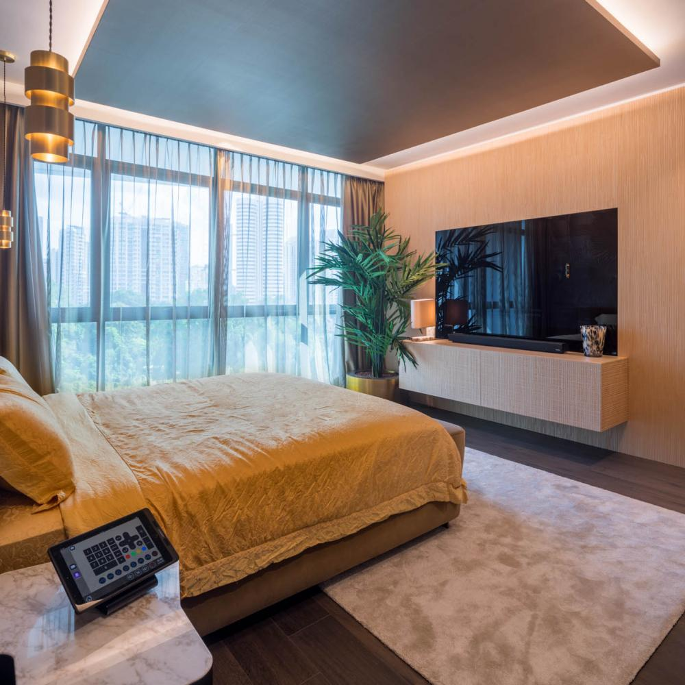 Laurameroni Singapore Penthouse with Co Van Der Horst for a luxury modern interior design inspiration