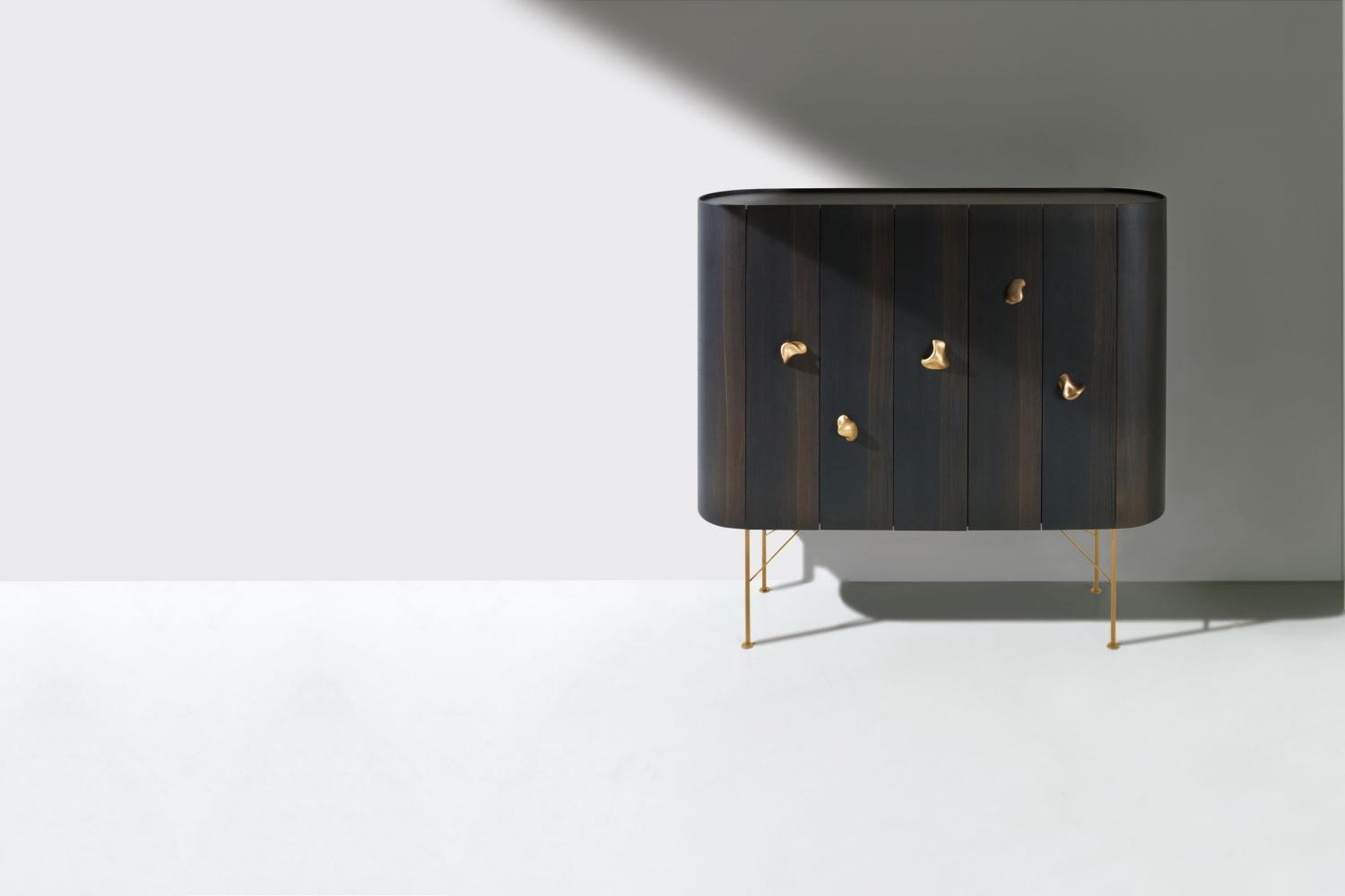 Laurameroni luxury made to measure furniture in high-end unconventional precious woods