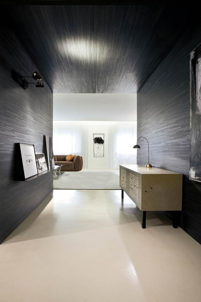 laurameroni decor day system in wood for luxury livingroom interior design