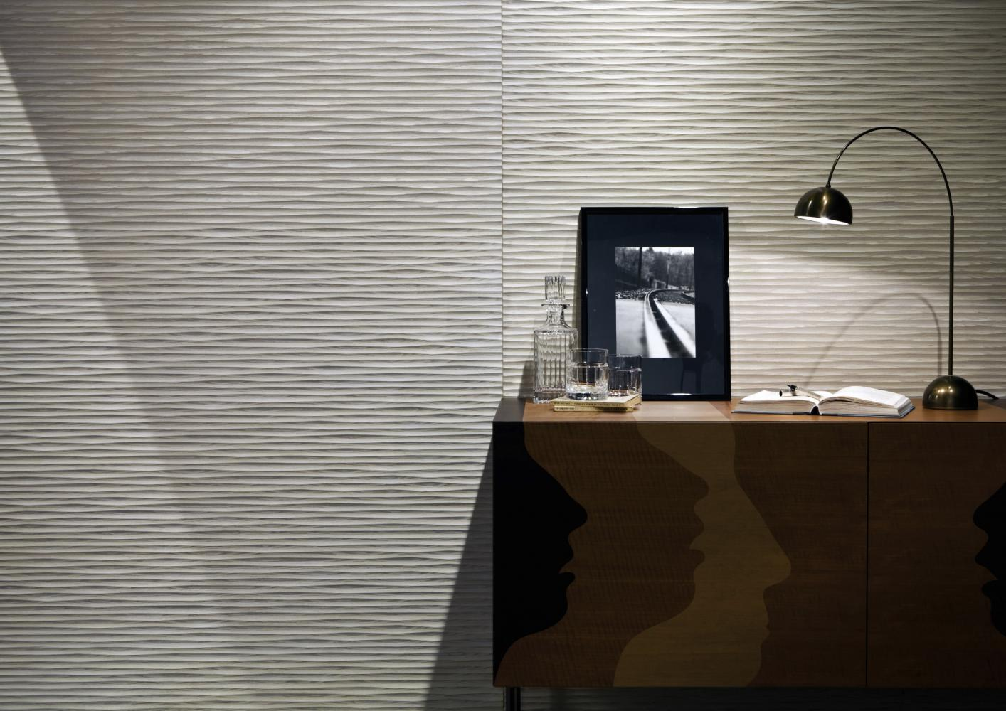 laurameroni 3d wall panels boiserie in wood, metal or fabric for luxury modern interior design