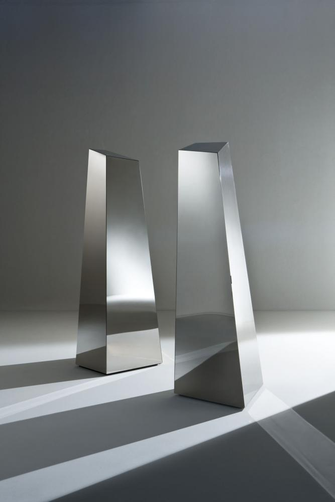 Laurameroni luxury modern made to measure steel metal bespoke furniture for contemporary interior decor and design