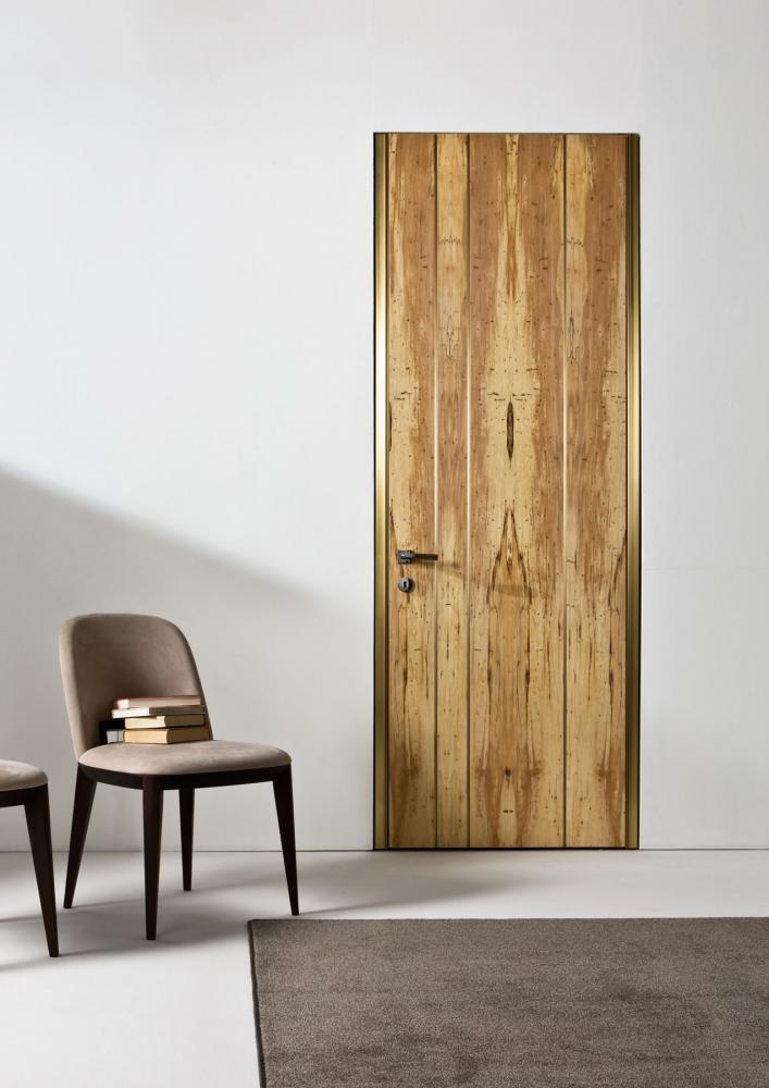 Laurameroni luxury modern integrated doors for a bespoke artisanal interior design and decor
