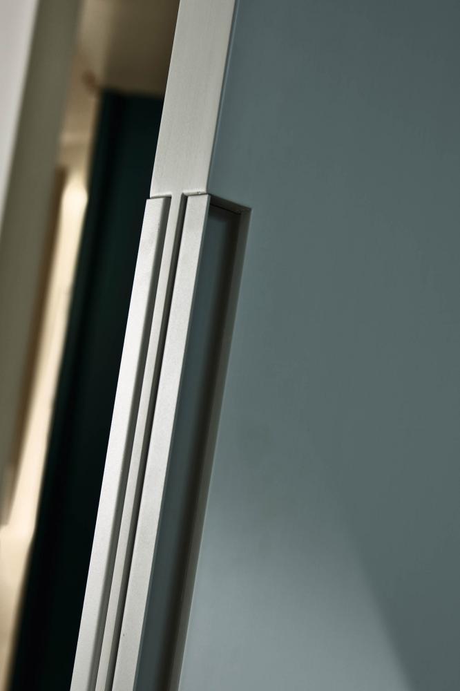 Laurameroni luxury modern integrated pivot doors for a bespoke artisanal interior design and decor