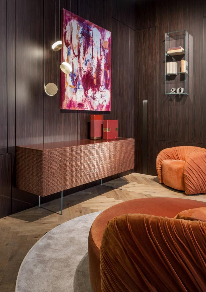 Laurameroni luxury modern made to measure bespoke freestanding furniture for contemporary interior decor and design