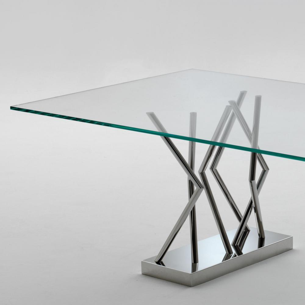 laurameroni rectangular custom table for a luxury modern interior design and decor