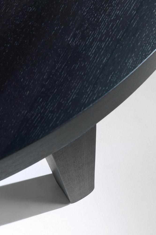 laurameroni wooden custom table for luxury interior design and decor