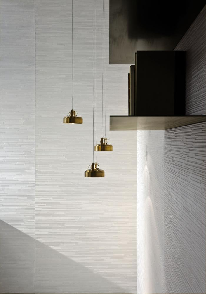 Modern luxury ceiling led spotlight in burnished brass