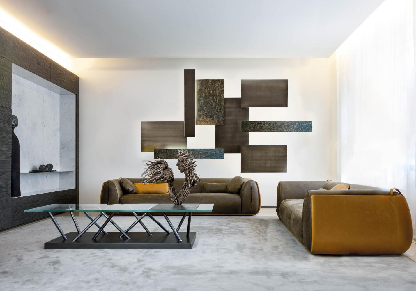 Made to measure luxury day cabinet system for modern living rooms