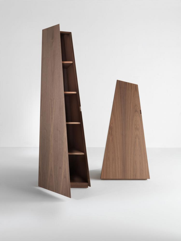 Cirque unique contemporary storage units with customizable finishes