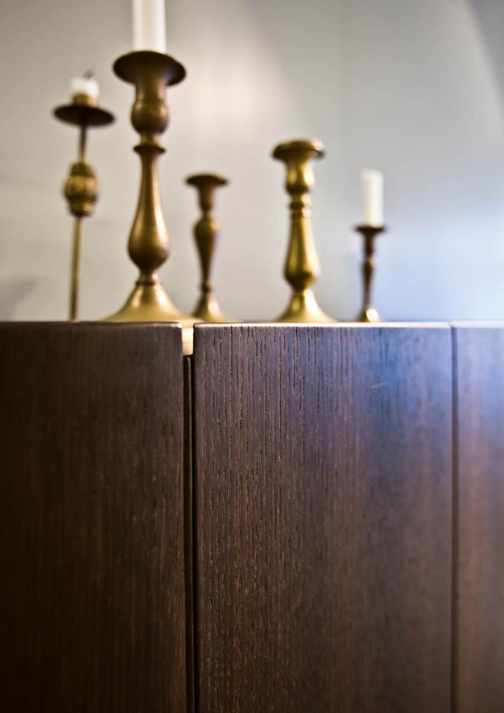 laurameroni detail collectionist sideboard in siberain ash dark wood