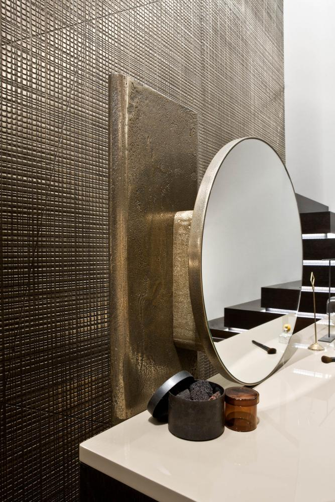 laurameroni modern luxury dressing table with mirror