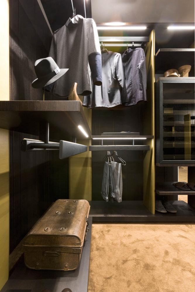 laurameroni line walk-in closet freestanding element system