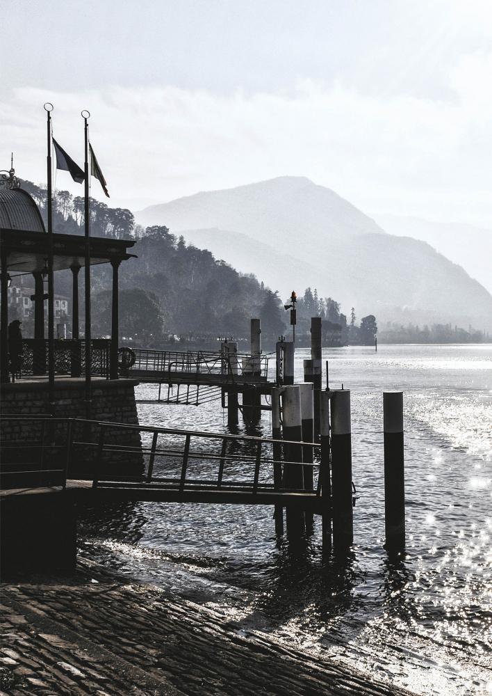 vista di bellagio sul lago di como vicino allo showroom aziendale laurameroni