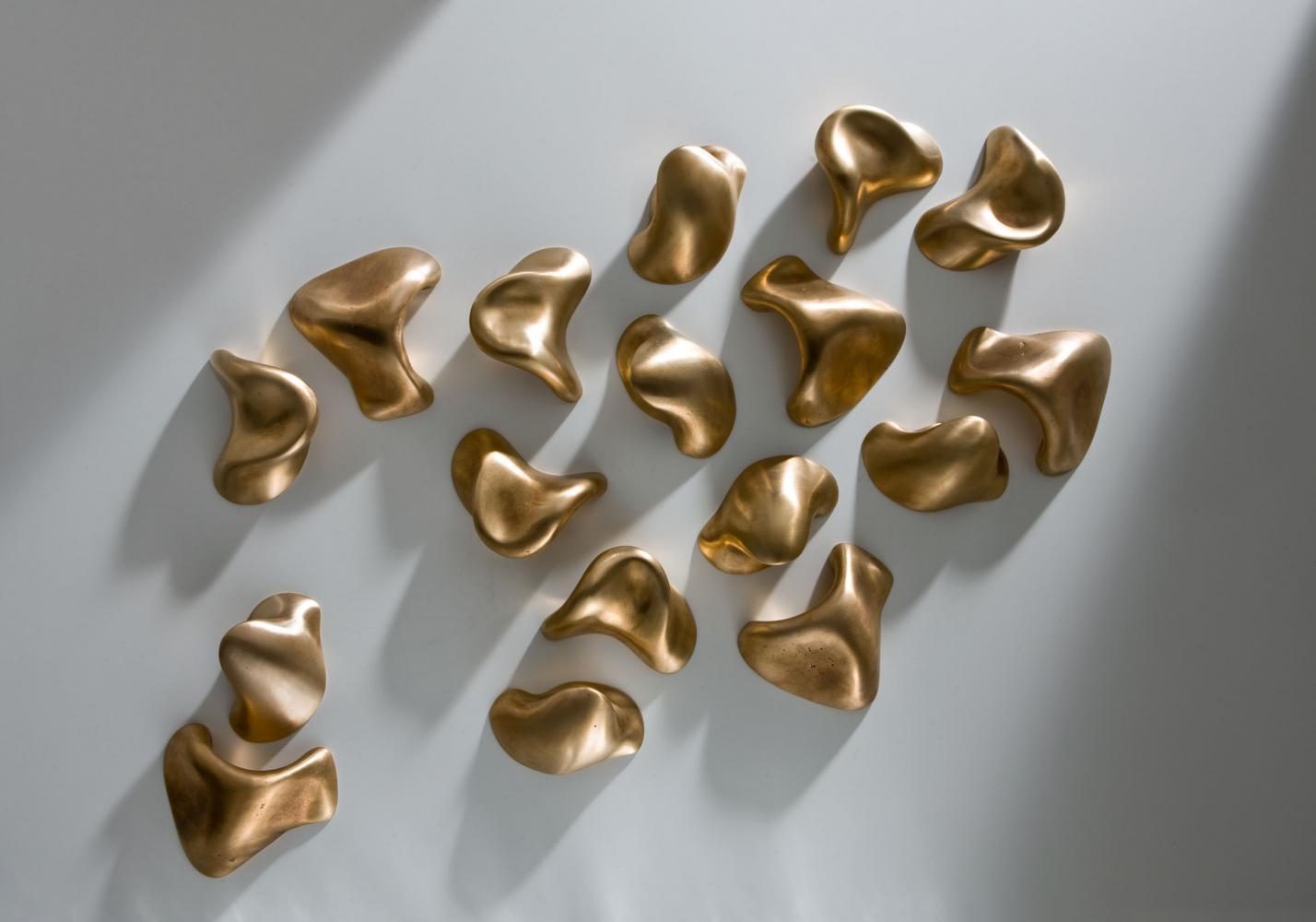 Sesel Luxury handcrafted decorative bronze handles