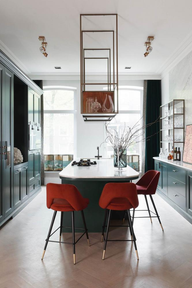 Laurameroni furnishes a luxury apartment in amsterdam for a modern interior design and decor