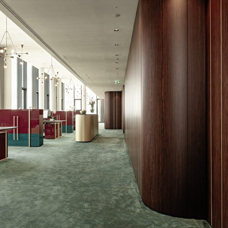 Laurameroni bespoke project wall panels and custom integrated doors and accessories in munich