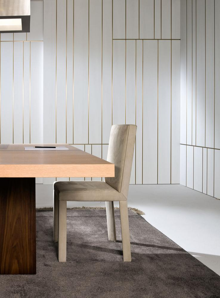 Wood Paneled Office: Office - Wall Panels - Line