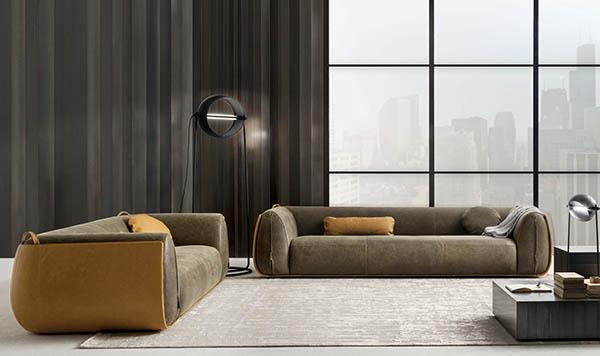 Laurameroni luxury modern designer floor lamps in copper or brass and fine metals for contemporary interior decor and design