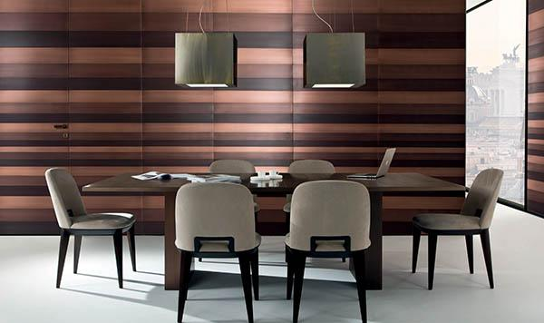 Laurameroni luxury modern designer ceiling lamps in copper or brass and fine metals for contemporary interior decor and design