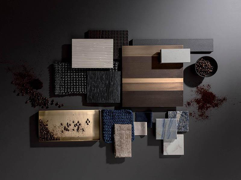 laurameroni materials surfaces and moodboards flatlay design for luxury interiors inspiration