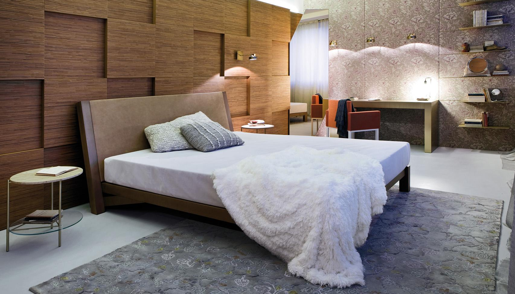 Laurameroni luxury modern integrated acoustic wall panels for a bespoke artisanal interior design and decor and acoustic comfort