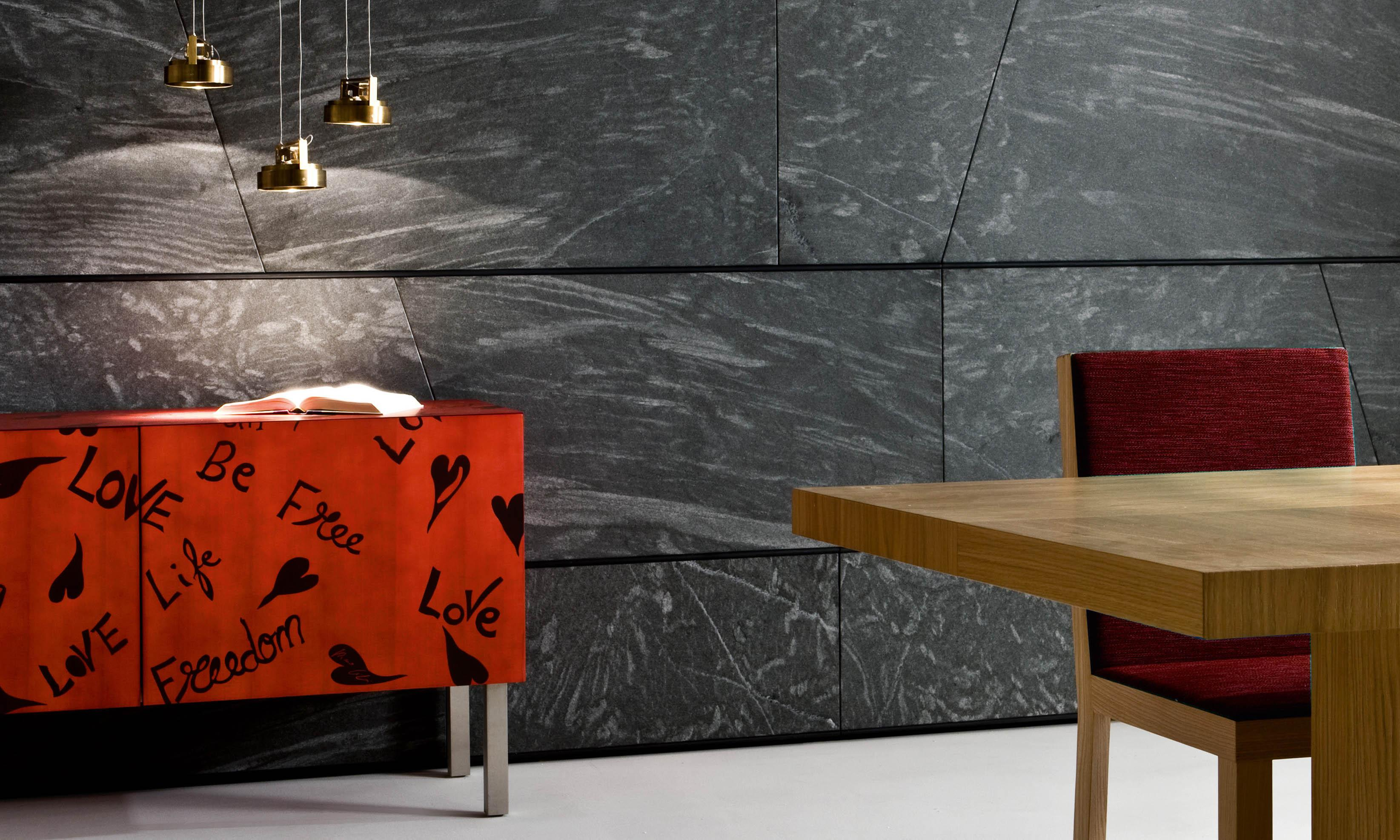 Laurameroni limited edition sideboard in inlaid wood by Romeo Gigli for an artistic and exclusive interior design