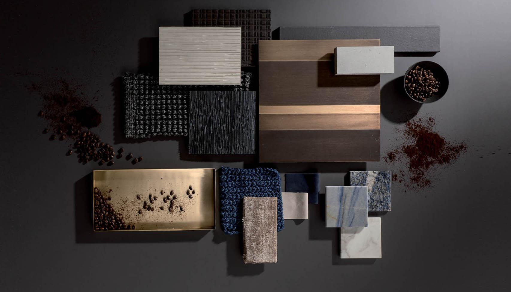 laurameroni luxury precious materials for a modern custom interior design
