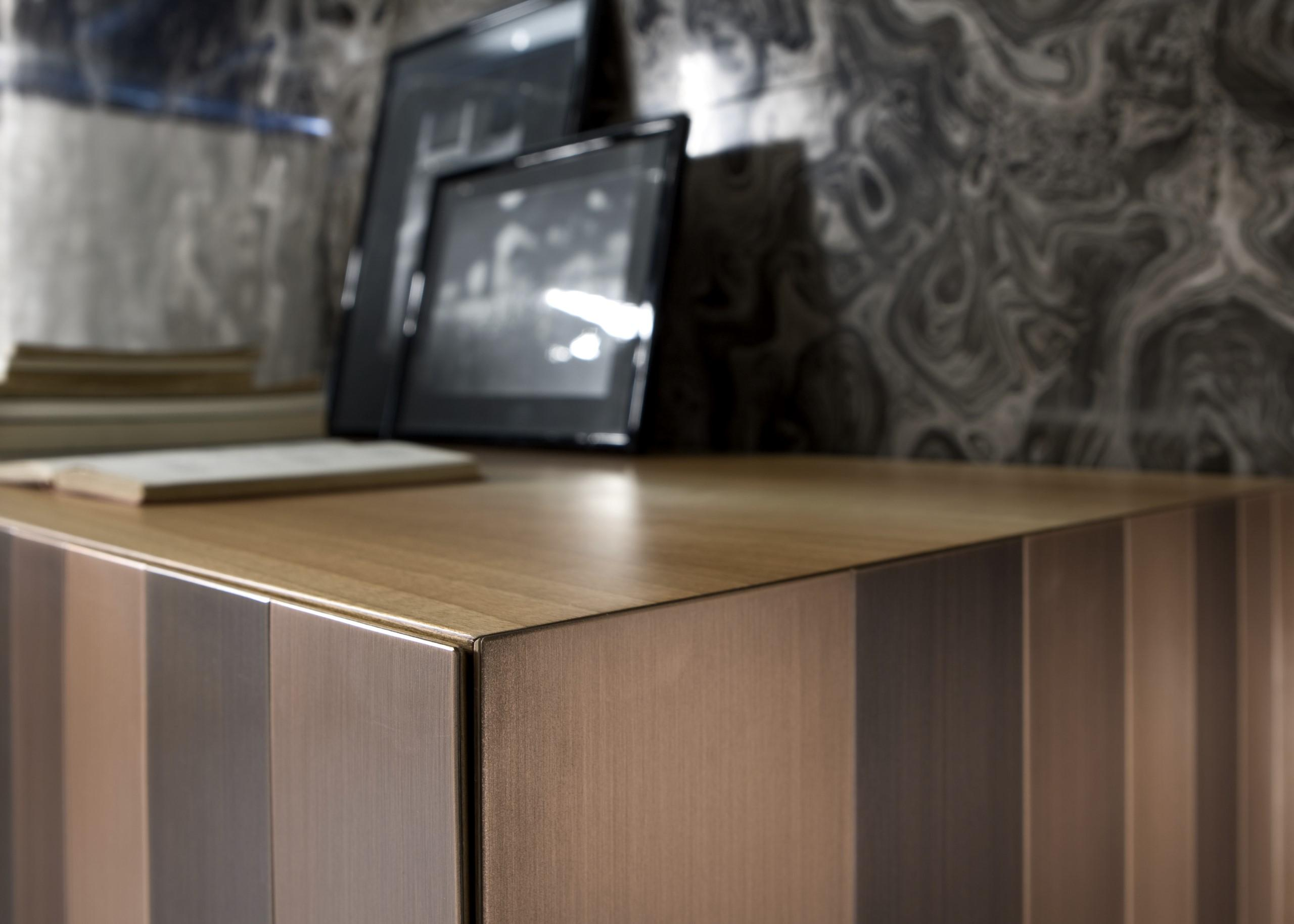 Laurameroni metal furniture stars collection in brass, copper, iron and steel for a luxury interior design