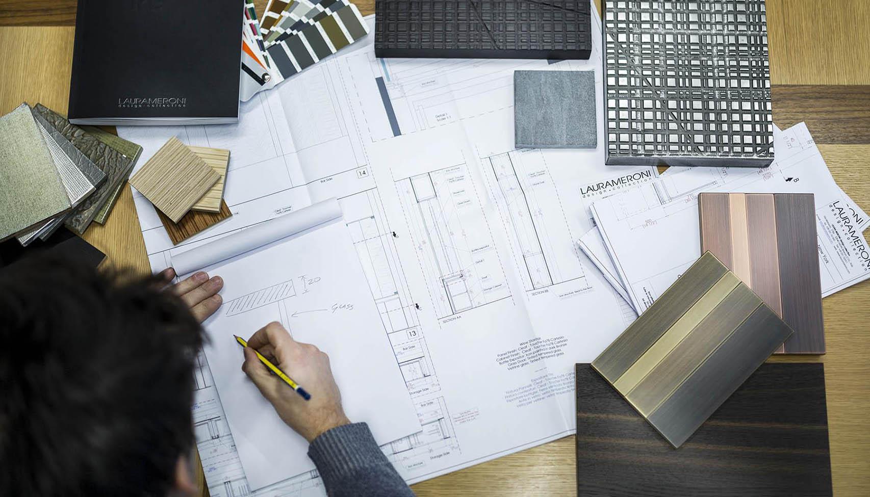 Laurameroni project design service architect and designer at work