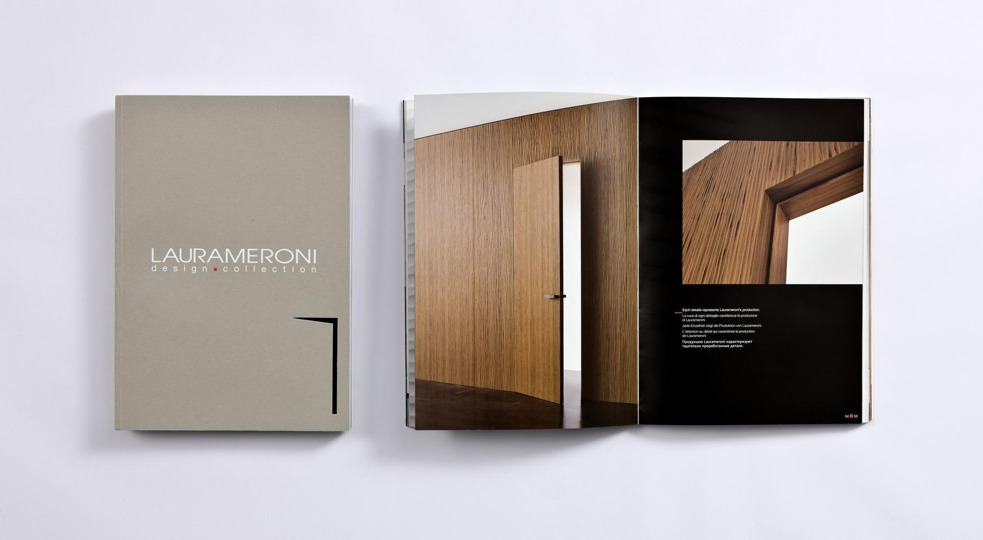 laurameroni luxury modern custom-made integrated doors and wall panels catalogue free download