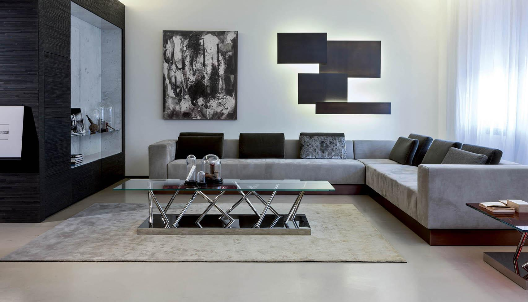 laurameroni luxury steel furniture architecture and interior design