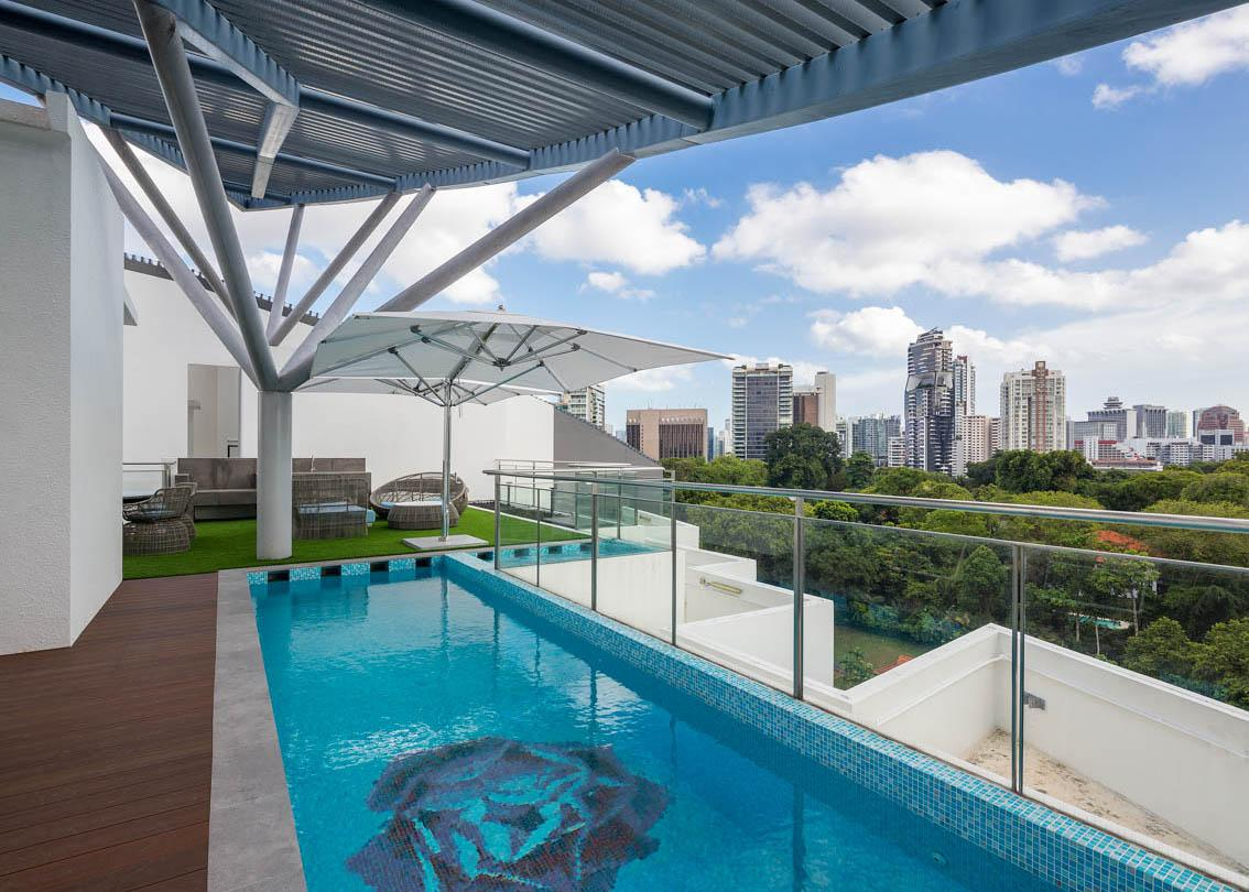 singapore tailor made high-end modern interior projects