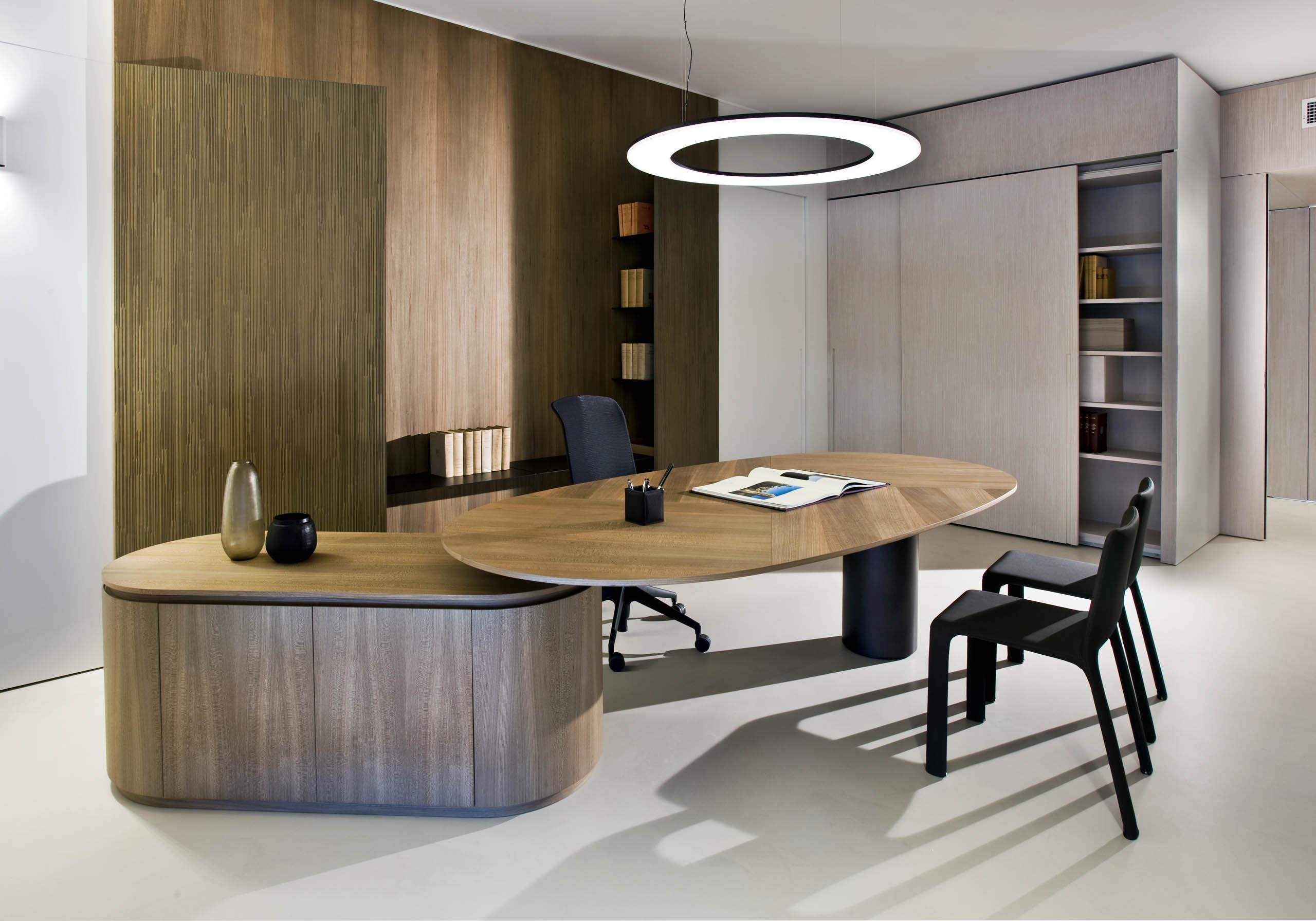 Modern interior design for luxury office desk