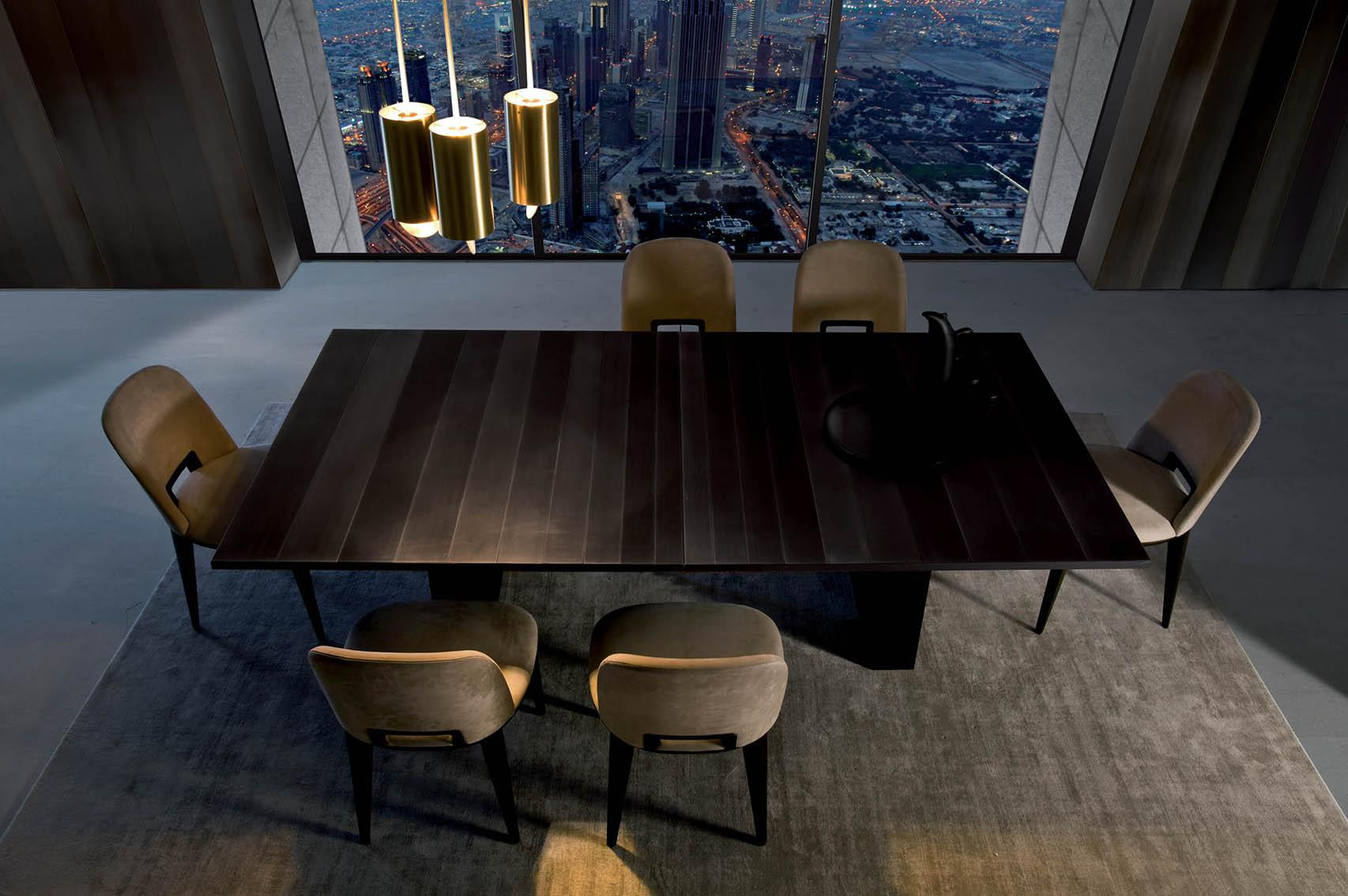 Laurameroni luxury modern made to measure bespoke tables for contemporary interior decor and design