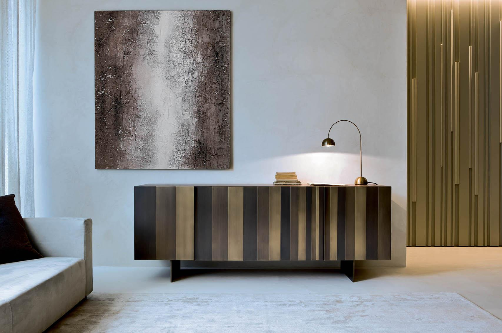 Laurameroni luxury modern artisanal sideboards and drawers for contemporary interior decor and design